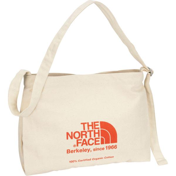 THE NORTH FACE ノースフェイス Musette Bag ナチュラル×TNFレッド (TR)
