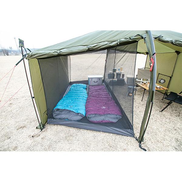 MINIMAL WORKS ミニマルワークス Jack Shelter Plus Inner Tent Black / Mesh