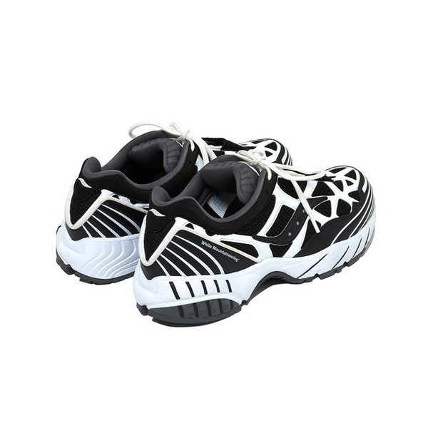 【30%OFFセール】 White Mountaineering ホワイトマウンテニアリング WM x SAUCONY SNEAKER GRID WEB Black/White