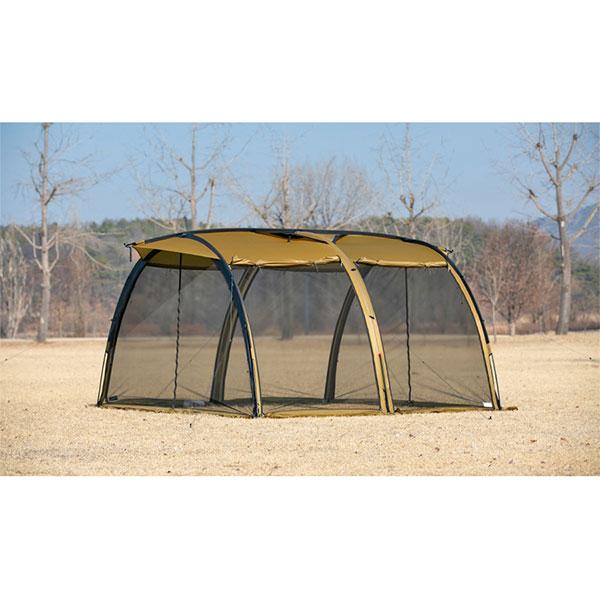 【予約商品 9月頃入荷予定】 MINIMAL WORKS ミニマルワークス V House M Tent Tan