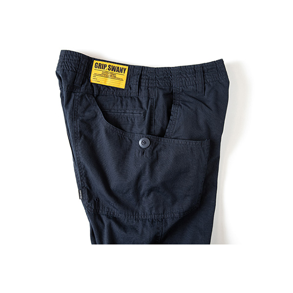 Grip Swany グリップスワニー Flannel Lining Pants Navy