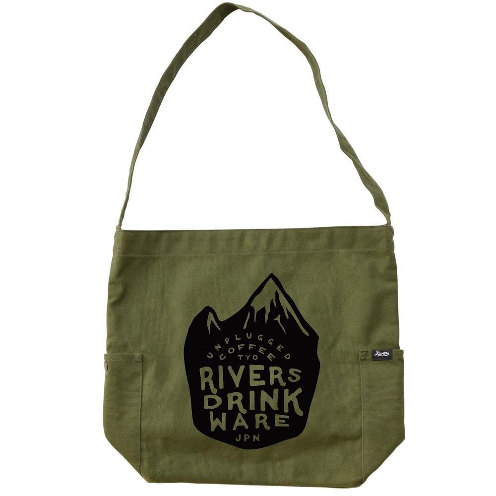 RIVERS リバーズ ショルダートートバッグ ノウ エレマン MOUNTAIN オリーブ