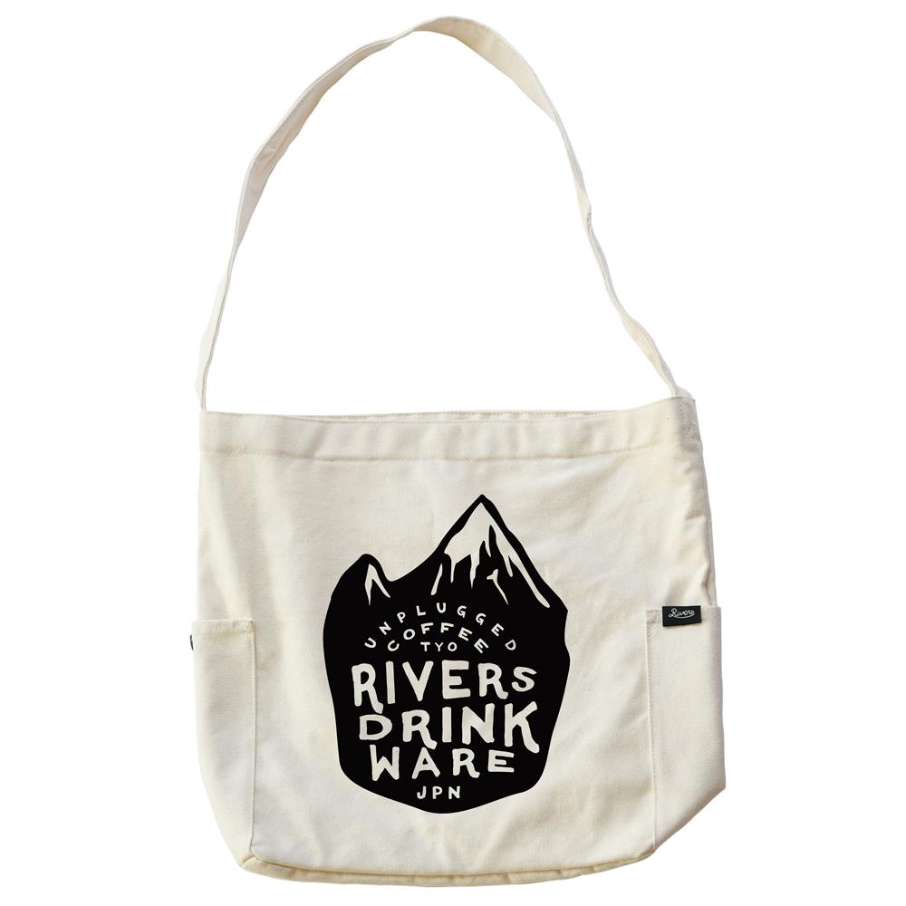 RIVERS リバーズ ショルダートートバッグ ノウ エレマン MOUNTAIN ナチュラル