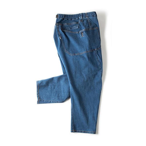 Grip Swany グリップスワニー Jog 3D Wide Camp Pants ライトインディゴ GSP-59