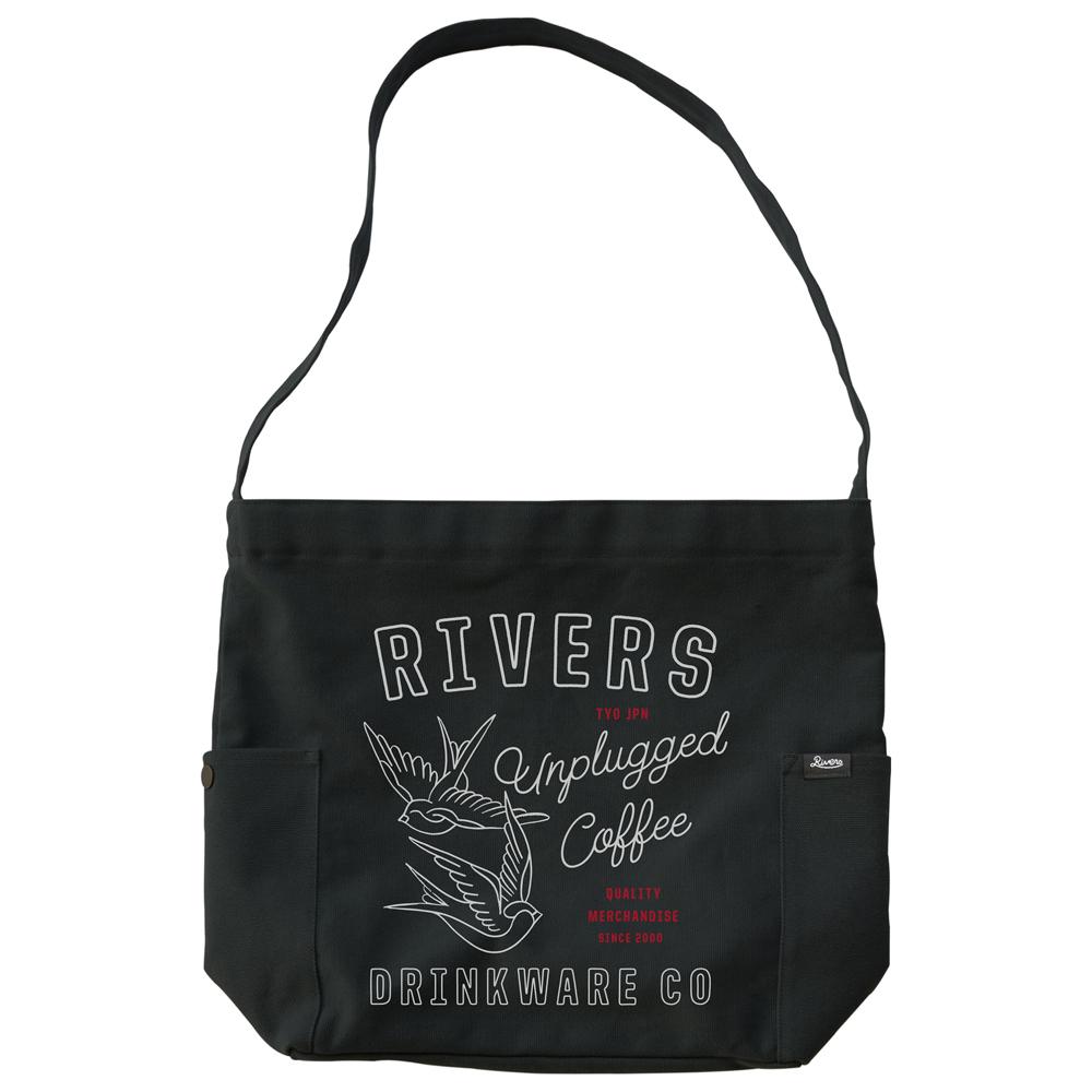 RIVERS リバーズ ショルダートートバッグ ノウ エレマン SWALLOW ブラック
