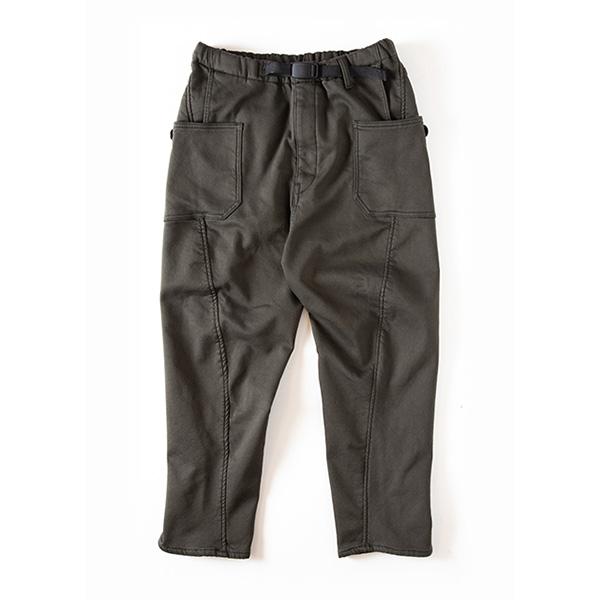 Grip Swany グリップスワニー Jog 3D Lining Wide Camp Pants DKOlive