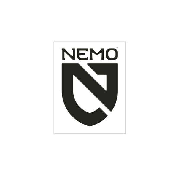 NEMO ニーモ NEMO シールドステッカーセット  BK