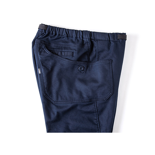 Grip Swany グリップスワニー Jog 3D Lining Wide Camp Pants DKNavy