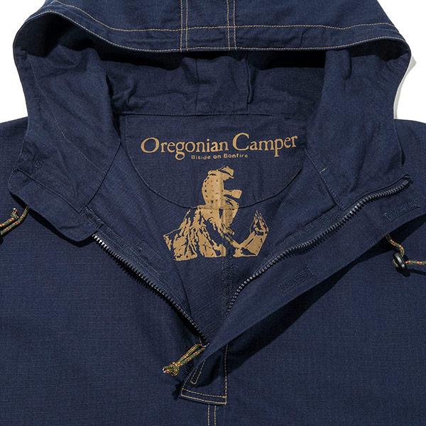 Oregonian Camper オレゴニアンキャンパー Fire Proof 焚き火ポンチョ Navy