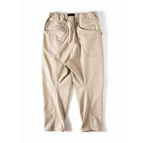 Grip Swany グリップスワニー Jog 3D Lining Wide Camp Pants Sand Beige
