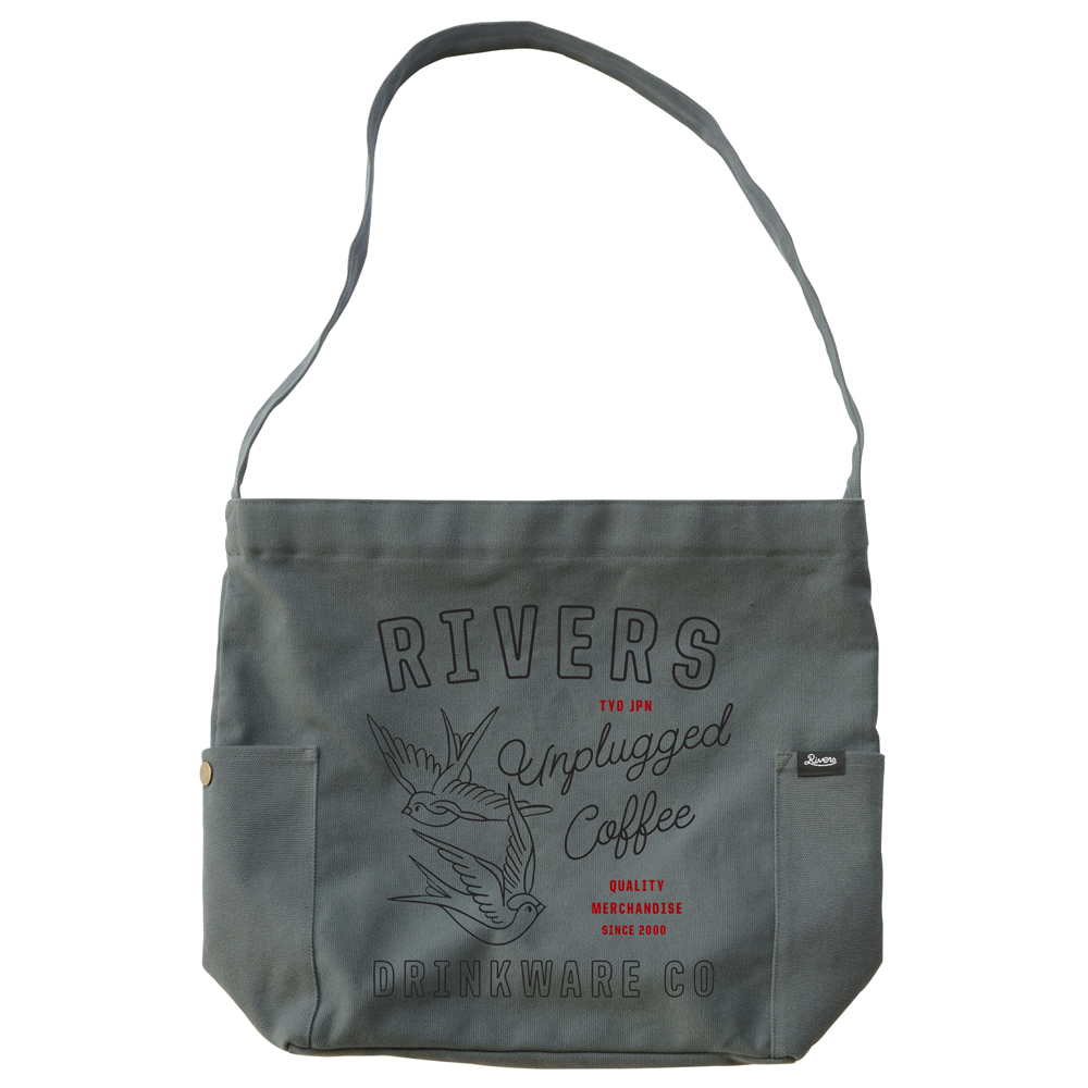 RIVERS リバーズ ショルダートートバッグ ノウ エレマン SWALLOW グレー