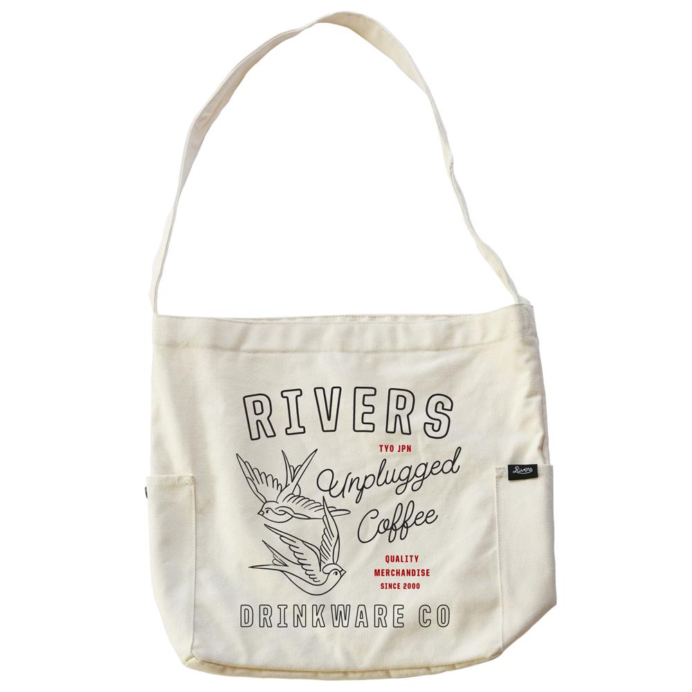 RIVERS リバーズ ショルダートートバッグ ノウ エレマン SWALLOW ナチュラル