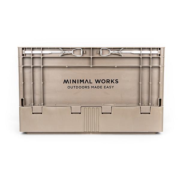MINIMAL WORKS ミニマルワークス Folding Box S Cocoa