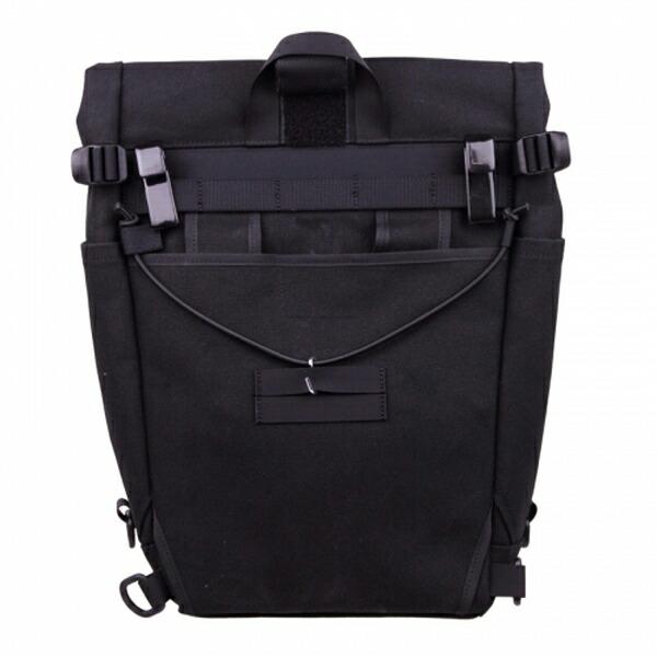 FAIRWEATHER フェアウェザー pannier bag black