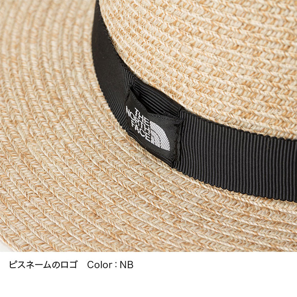 THE NORTH FACE ノースフェイス Washable Mountain Braid Hat ナチュラルベージュ (NB)