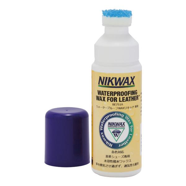 Nikwax ニクワックス ウォ-タ-プル-フWAXリキッド革用