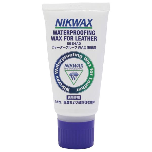 Nikwax ニクワックス ウォータープルーフWAX革用