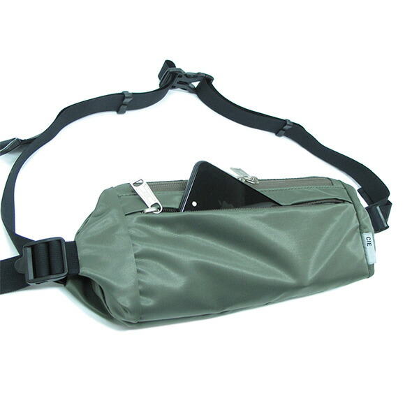 【30%OFFセール】 CIE シー Moneybag-02 Olive