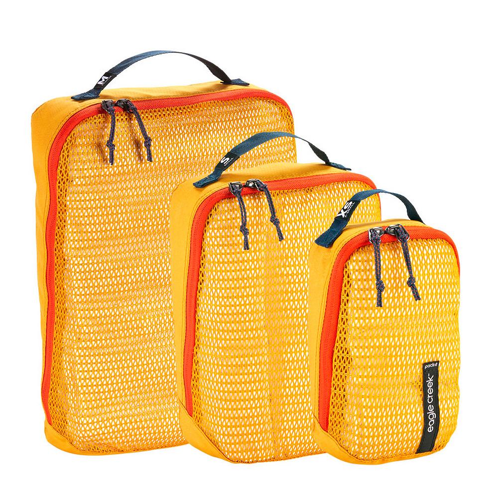 EagleCreek イーグルクリーク pack-it ReveaL Cube Set Sahara Yellow