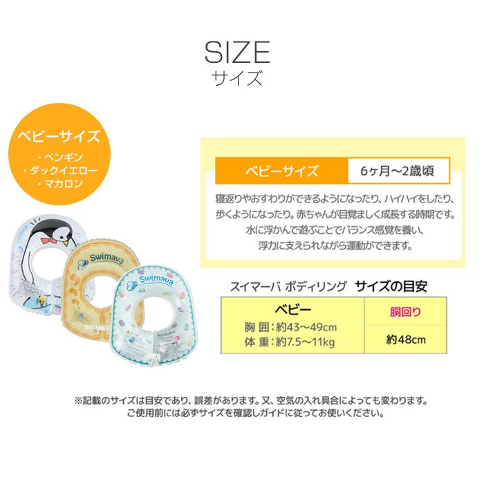 スイマーバ うきわボディリング ベビー Swimava