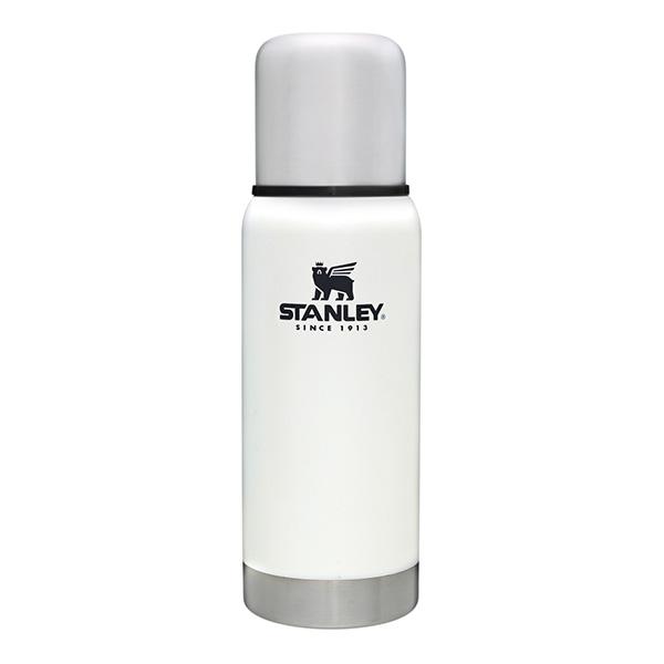 スタンレー 真空 ボトル 0.5L ホワイト STANLEY 断熱 ボトル コップ付き 水筒 保温 保冷 耐久性 頑丈 白 マイボトル おしゃれ 01563-019