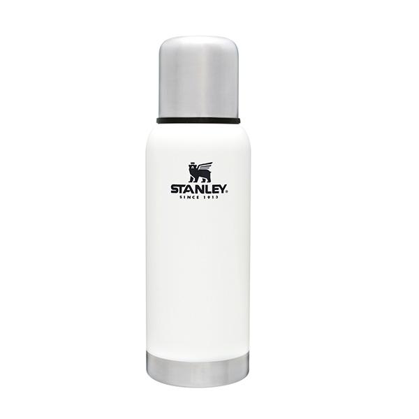 スタンレー 真空 ボトル 0.7L ホワイト STANLEY 断熱 ボトル コップ付き 水筒 保温 保冷 耐久性 頑丈 白 マイボトル おしゃれ 01562-050