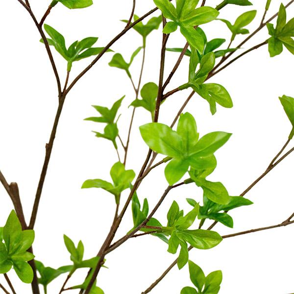 ドウダンツツジ フェイク グリーン 枝 造花 GREENPARK グリーンパーク フェイクウォーター PRGR-1203 観葉植物 おしゃれ ガラス インテリア 人気