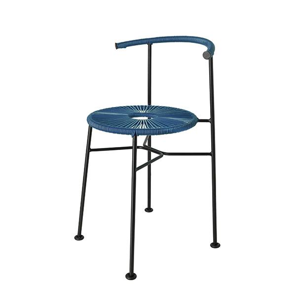 アカプルコ カフェ チェア 正規品 ダイニング テラス ガーデン おしゃれ 屋外 屋内 黒 白 青 黄 グレー Acapulco Cafe Chair メトロクス