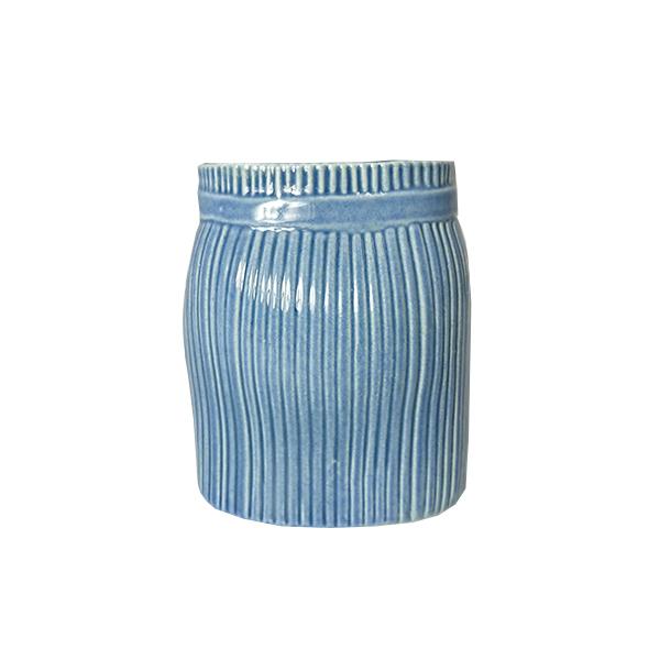 Lisa Larson リサ・ラーソン WARDROBE SKIRT ワードローブ スカート  | 10cm  ブルー 花瓶 北欧