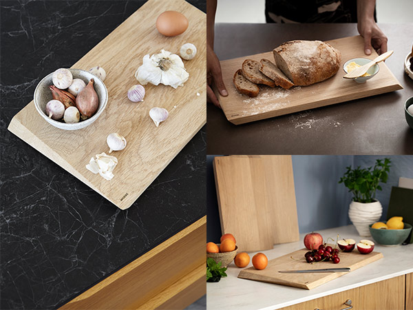 MOEBE ムーベ カッティングボード 小 | オーク材 ナチュラル まな板 北欧 ブランド 木製 無垢