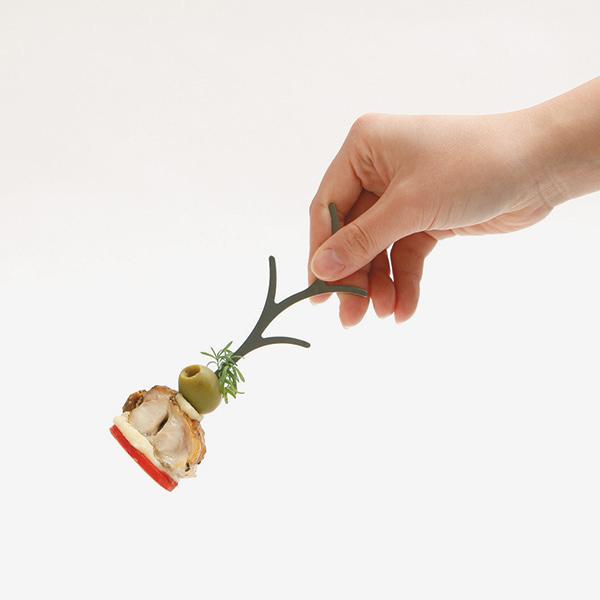 ツリーピック 専用台座 セット TREE PICKS セメントプロデュースデザイン ピンチョス フード ピック おしゃれ 日本製 パーティー ステンレス
