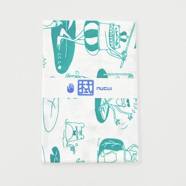 手ぬぐい おしゃれ てぬぐい 手拭い かえる ハンカチ かわいい プレゼント こしぇる工房 メール便 対応 オリジナル プチギフト ギフト 岩手 おしゃれ
