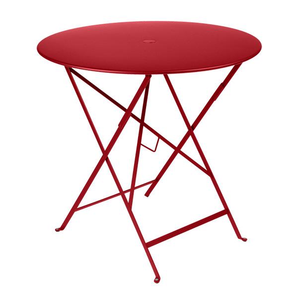 ビストロ ラウンド テーブル 77H Fermob bistro フェルモブ 高さ73cm 折りたたみ カラー 全6色 メタル ガーデン アウトドア 円 丸 おしゃれ