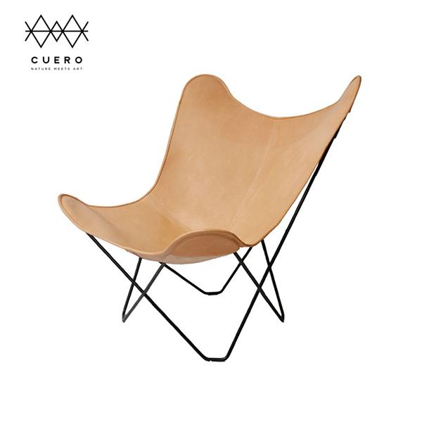 BKF バタフライ チェア Butterfly Chair マリポサ Cuero クエロ  ナチュラル | ラウンジ レザー 革 インテリア シック 高級 ブランド