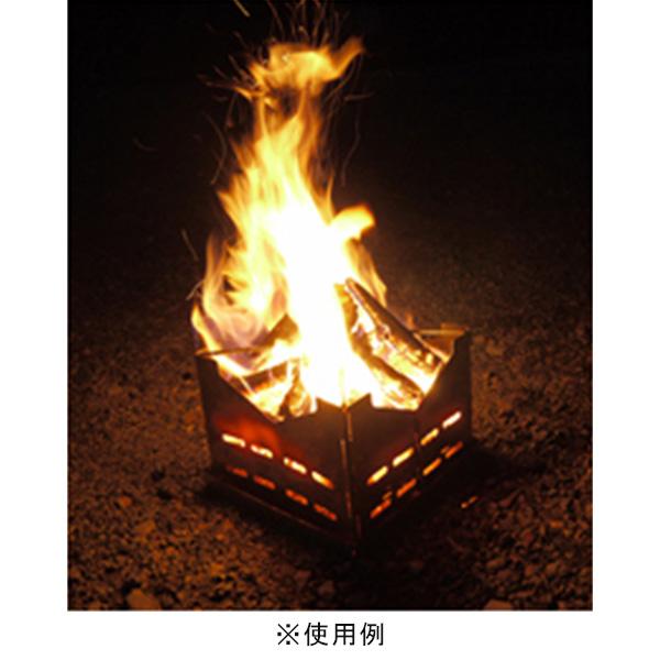 ファイヤー スタンド A&F エイアンドエフ 焚き火台 火起こし コンロ キャンプ アウトドア 折りたたみ 式 日本製