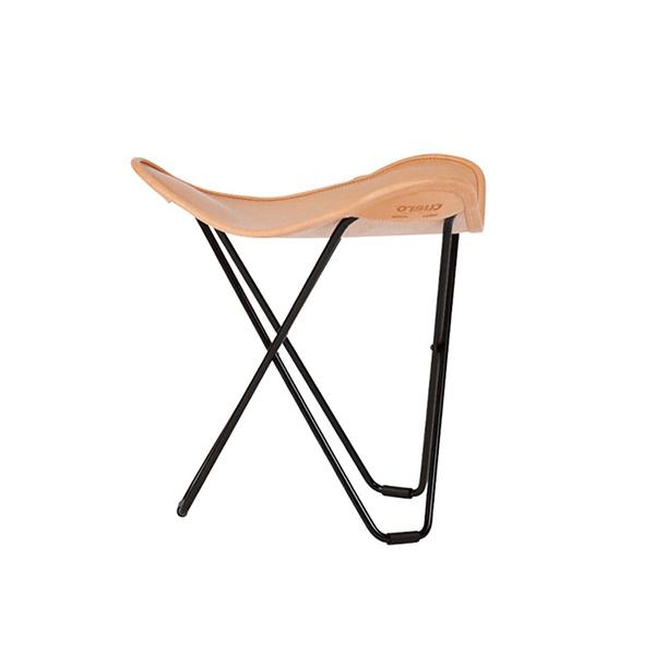 BKF バタフライ チェア Butterfly Chair フラインググース Flying goose(オットマン)Cuero クエロ  ブラック ブラウン ナチュラル 黒 茶 | ラウンジ レザー 革 インテリア シック 高級 ブランド