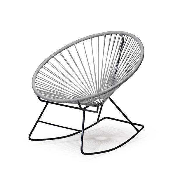 アカプルコ ロッキング チェア 正規品 座面高38cm 新色 カラー 1人掛け ガーデン アウトドア 揺り椅子 白 黒 黄 グレー おしゃれ Acapulco