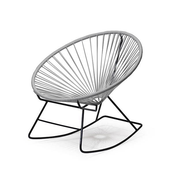 アカプルコ ロッキング チェア 正規品 座面高38cm カラー 1人掛け ガーデン アウトドア 揺り椅子 おしゃれ 黒