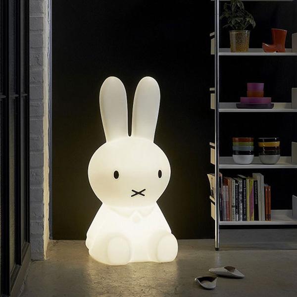 ミッフィー ランプ XL リモコン 調光 機能付き LED ライト 1年保証 ミスターマリア MM-001 インテリア グッズ かわいい おしゃれ USB 照明
