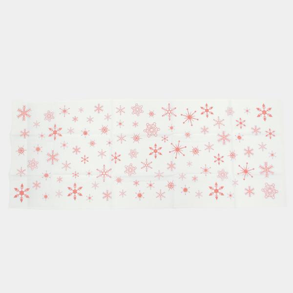 手ぬぐい おしゃれ てぬぐい 手拭い 雪の結晶 ハンカチ かわいい プレゼント こしぇる工房 手ぬぐい メール便 対応 オリジナル手拭い ギフト 東北 岩手 冬 雪