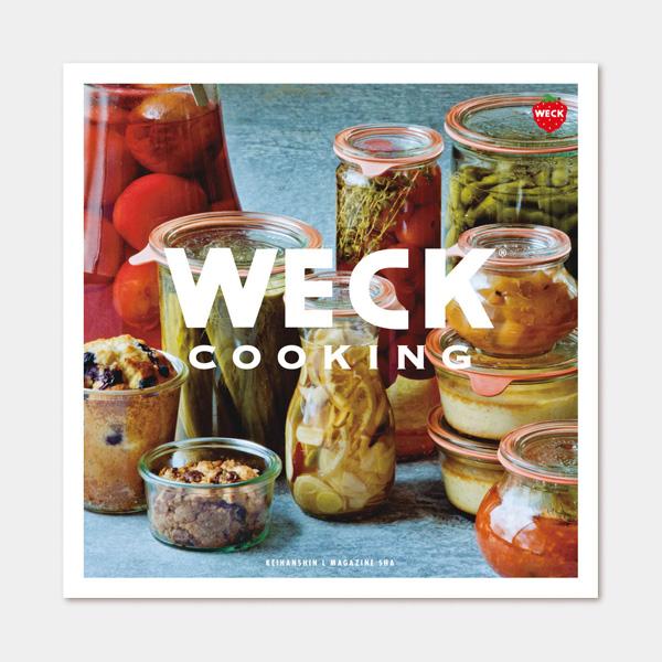 weck WECK ウェック レシピ本 WECK COOKING ウェッククッキング メール便 対応 書籍 保存食 クッキング 料理本 料理 ビンごと調理 デザート 調理法 煮沸殺菌