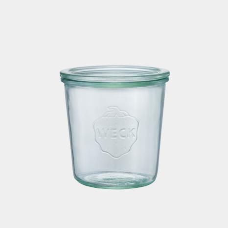 モールド シェイプ 500 ml WE-742 フタLサイズ MOLD SHAPE WECK ウェック キャニスター 保存 容器 耐熱 ガラス 密閉 保存瓶
