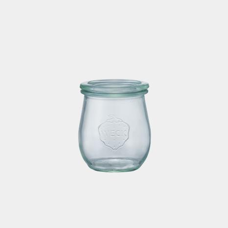weck WECK ウェック チューリップ キャニスター ガラス シェイプ 200 ml WE-762 保存 容器 保存容器 耐熱ガラス 密閉 保存瓶 おしゃれ キッチン収納 かわいい