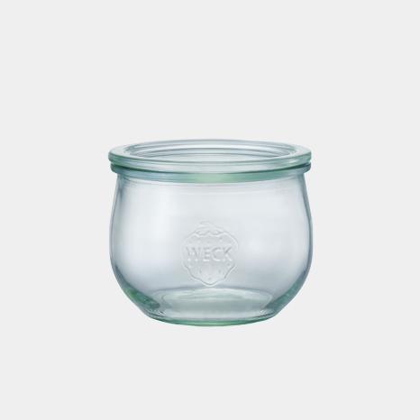 weck WECK ウェック チューリップ キャニスター ガラス シェイプ 500 ml WE-744 保存 容器 保存容器 耐熱ガラス 密閉 保存瓶 おしゃれ キッチン収納 かわいい
