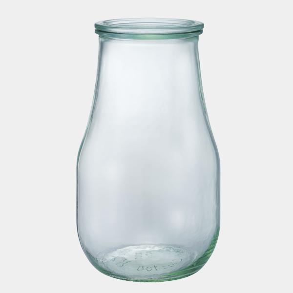 チューリップ シェイプ 2700 ml WE-739 フタLサイズ TULIP SHAPE WECK ウェック キャニスター 保存 容器 耐熱 ガラス 密閉 保存瓶