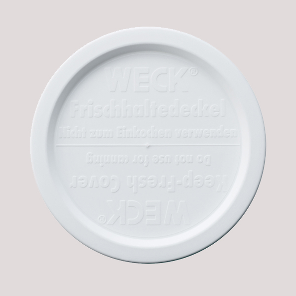 WECK ウェック キャニスター 用 プラスチックカバー L 蓋 メール便対応 WE-005 ふた 保存容器 関連パーツ キッチン用品 キッチン 雑貨
