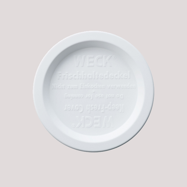 プラスチック カバー M  WE 006 蓋 WECK ウェック おしゃれ キャニスター 用 メール便 対応  ふた 保存 容器 キッチン 収納 雑貨 かわいい