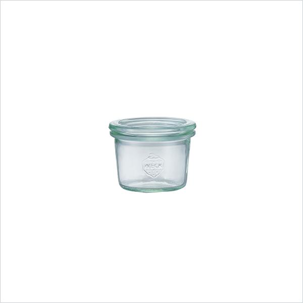 モールド シェイプ 80 ml WE-080 フタSサイズ MOLD SHAPE WECK ウェック キャニスター 保存 容器 耐熱 ガラス 密閉 保存瓶