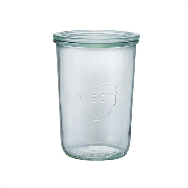 weck WECK ウェック キャニスター ガラス モールド シェイプ 750 ml WE-743 保存 容器 保存容器 耐熱ガラス 密閉 保存瓶 おしゃれ キッチン収納 かわいい