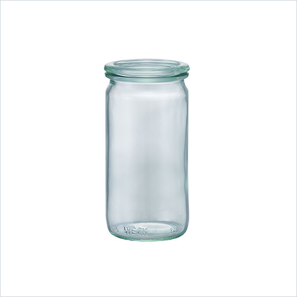 weck WECK ウェック キャニスター ガラス ストレー トシェイプ 340 ml WE-975 保存 容器 保存容器 耐熱ガラス 密閉 保存瓶 おしゃれ キッチン収納 かわいい